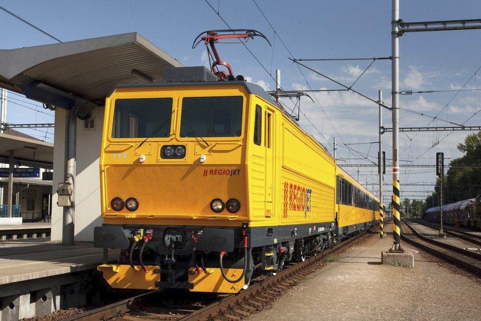 Vlak RegioJetu