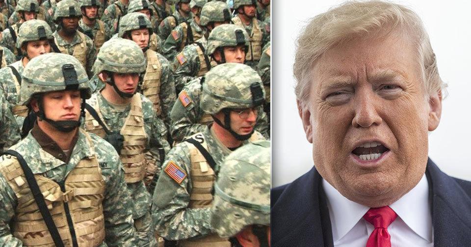 Trump pohrozil dočasným uzavřením jižní hranice s Mexikem