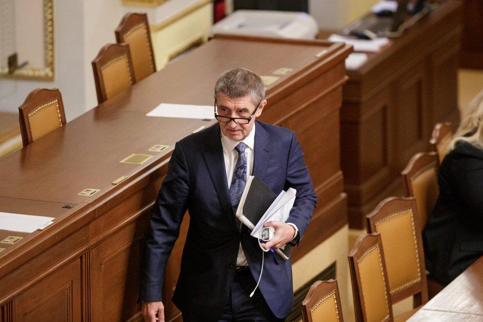Andrej Babiš věří, že vláda hlasování o nedůvěře ustojí. Opozice nemá dostatek hlasů