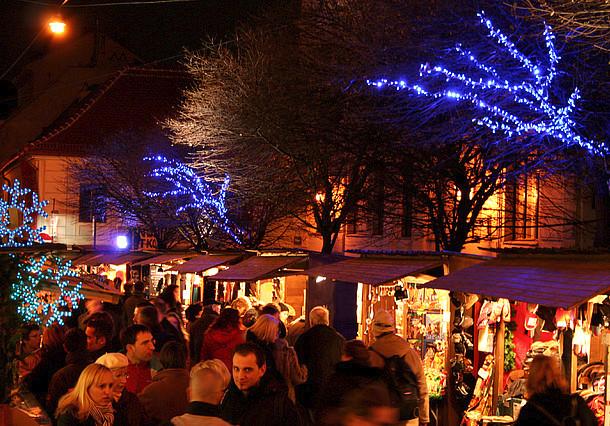 Vánoční trh na Spittelbergu