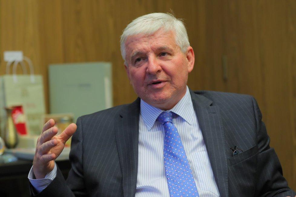Guvernér České národní banky Jiří Rusnok poskytl rozhovor deníku Blesk (13.11.2018).