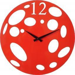 Kovové designové moderní hodiny s elektrickým strojkem jsou vhodné nejen do kuchyně, ale i do obývacích místností.