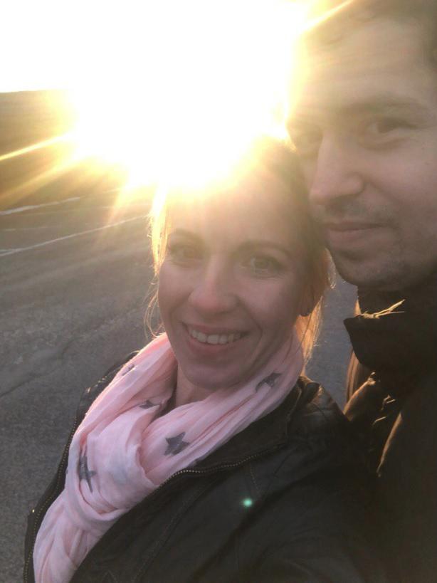 Andrej Babiš mladší a jeho snoubenka Jelizaveta