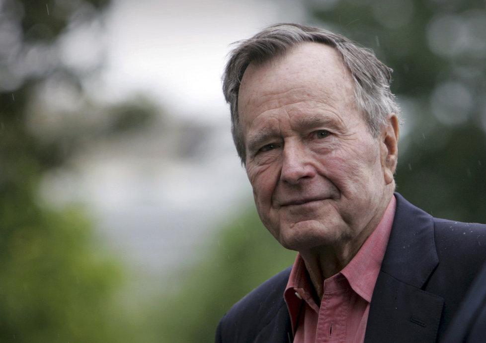 Bývalý prezident George Bush starší