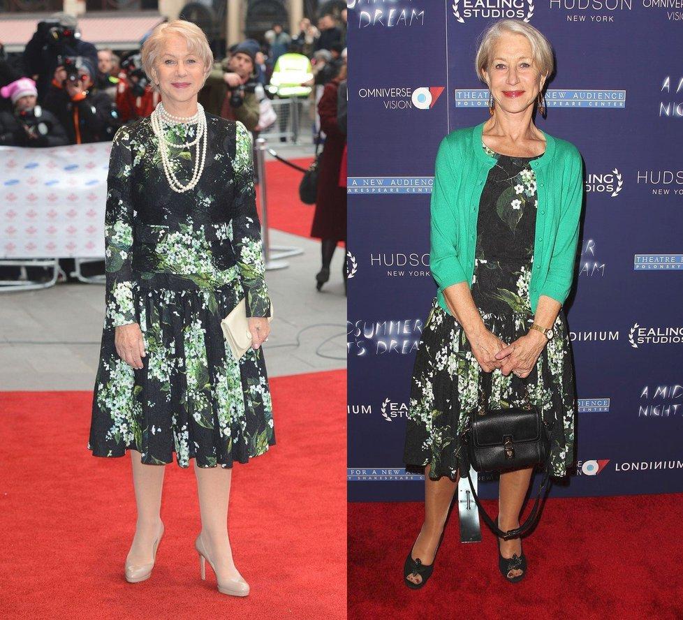 Jedny šaty mohou vypadat úplně jinak.