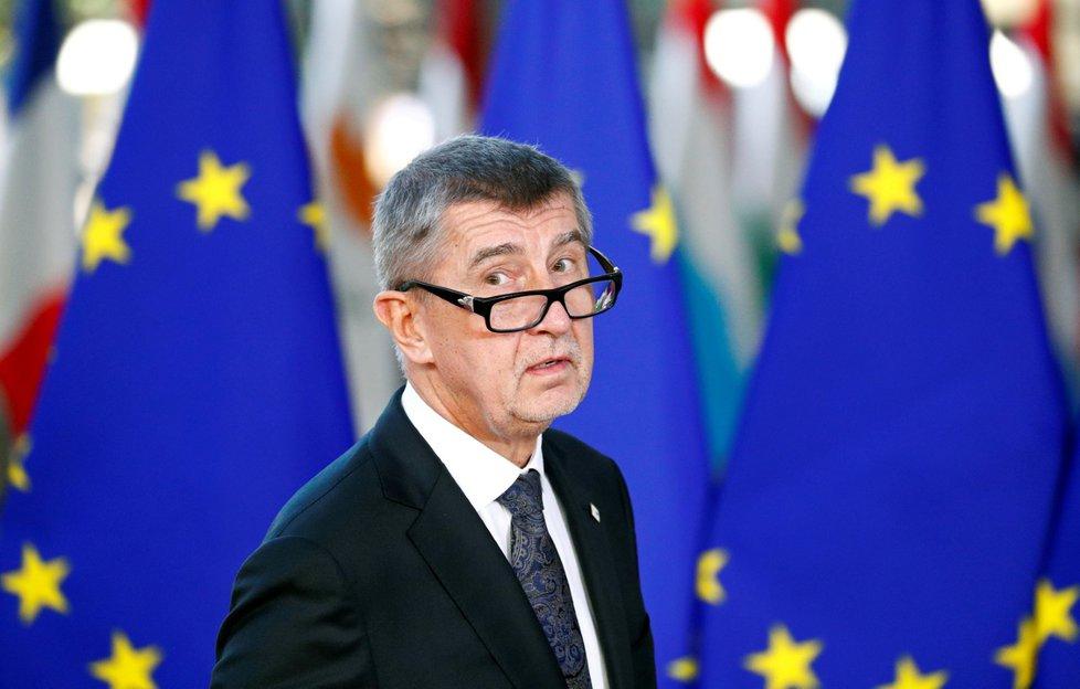 Premiér Andrej Babiš (ANO)v Bruselu