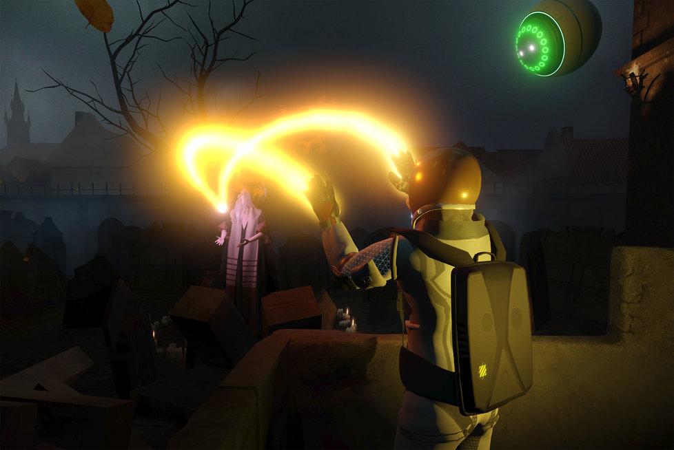 Hra Golem nyní sází na více interaktivních prvků. Jedním z nich je přímé účastenství na oživení golema, zatímco v předešlé verzi byl hráč pouhým pozorovatelem.