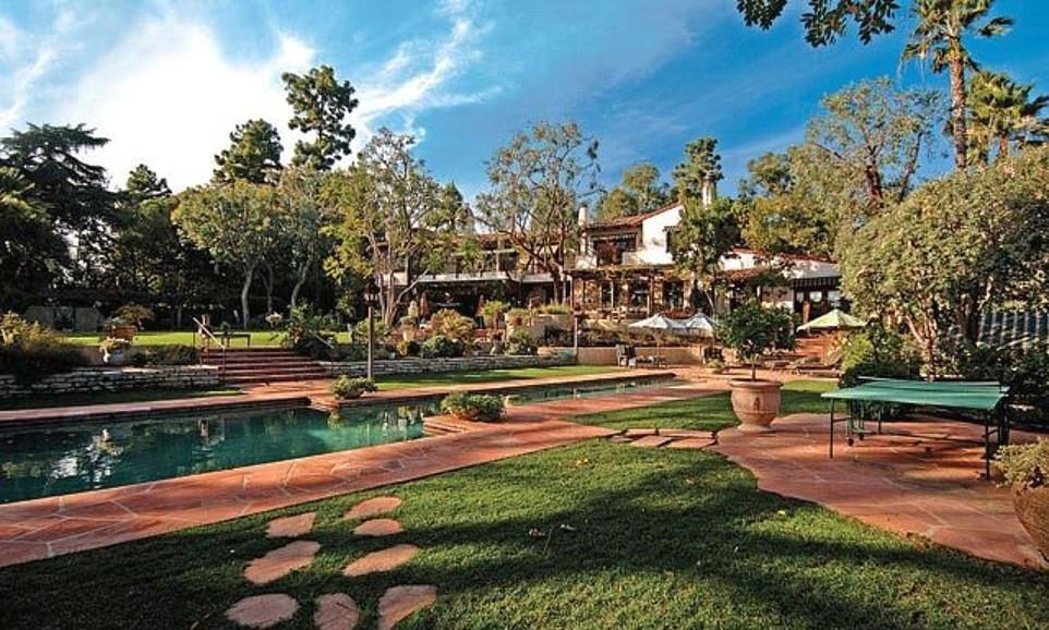 Bezosova rezidence v Beverly Hills