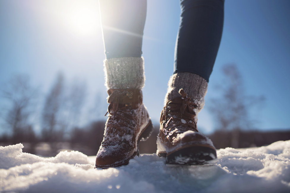 Stylové boty na hory  Jaké se hodí do sněhu i do města   5751ec07dd