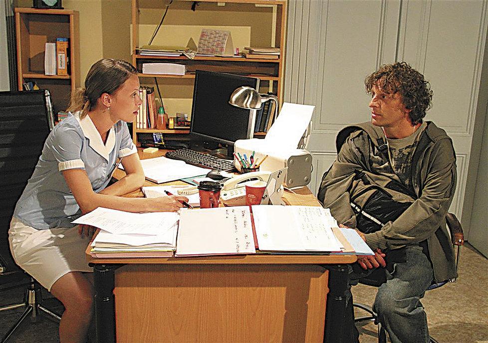 Manželé si spolu zahráli v seriálu Ordinace v Růžové zahradě.
