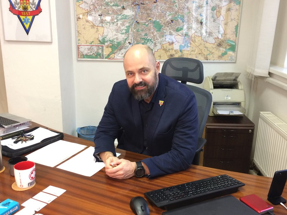 Ředitel pražské záchranky Petr Kolouch.