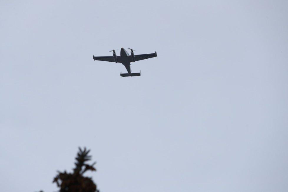 Letadla na počest zesnulého Luďka Munzara