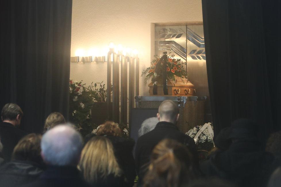Pohřeb Luďka Munzara