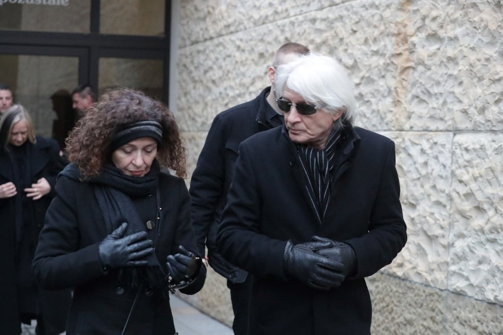 Pohřeb Luďka Munzara: Dcera Johana
