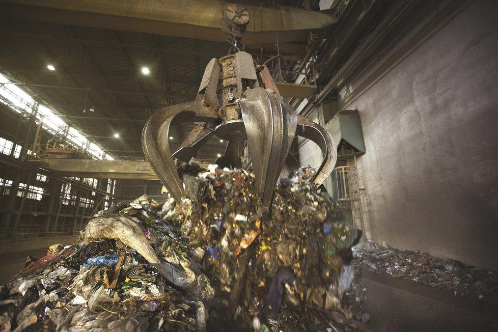 Zařízení na energetické využití odpadu v Malešicích