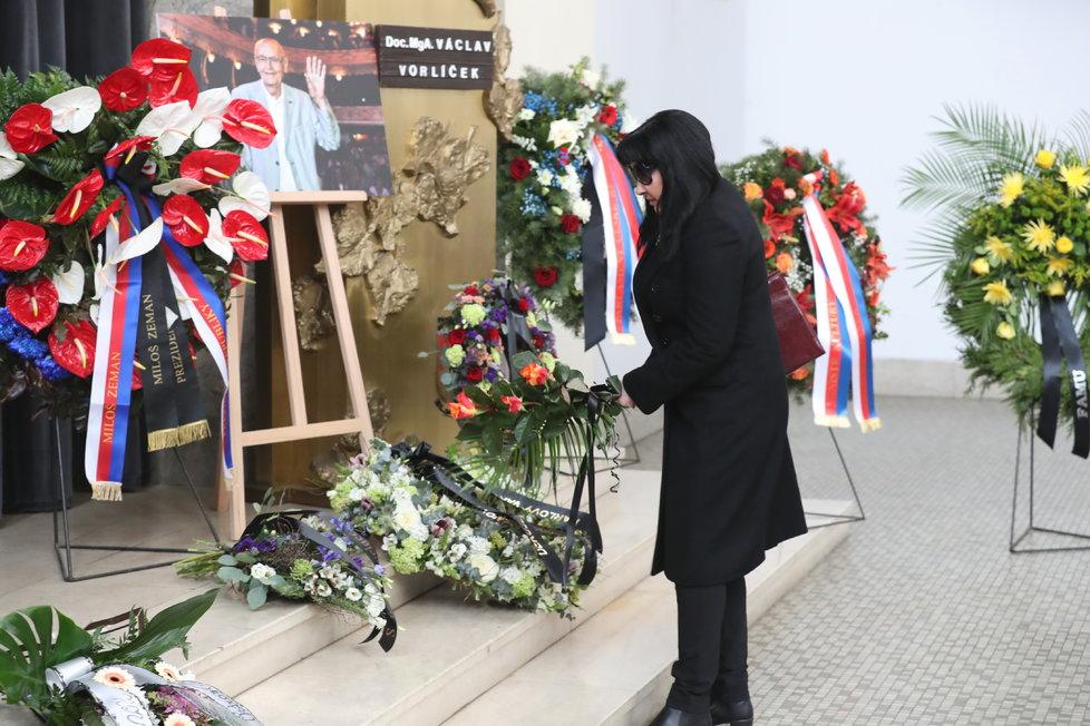 Pohřeb Václava Vorlíčka.