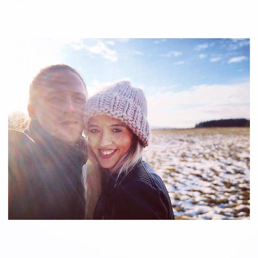Manželka Tomáše Kluse Tamara dnes slaví narozeniny