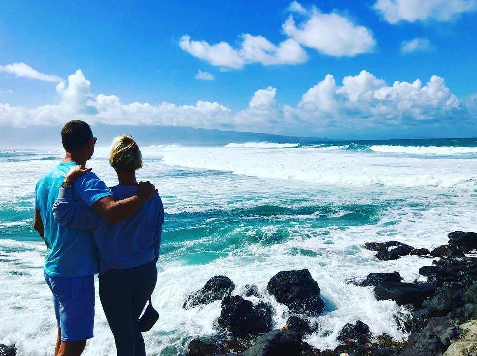 Zuza Belohorcová si užívá Valentýna na Havaji