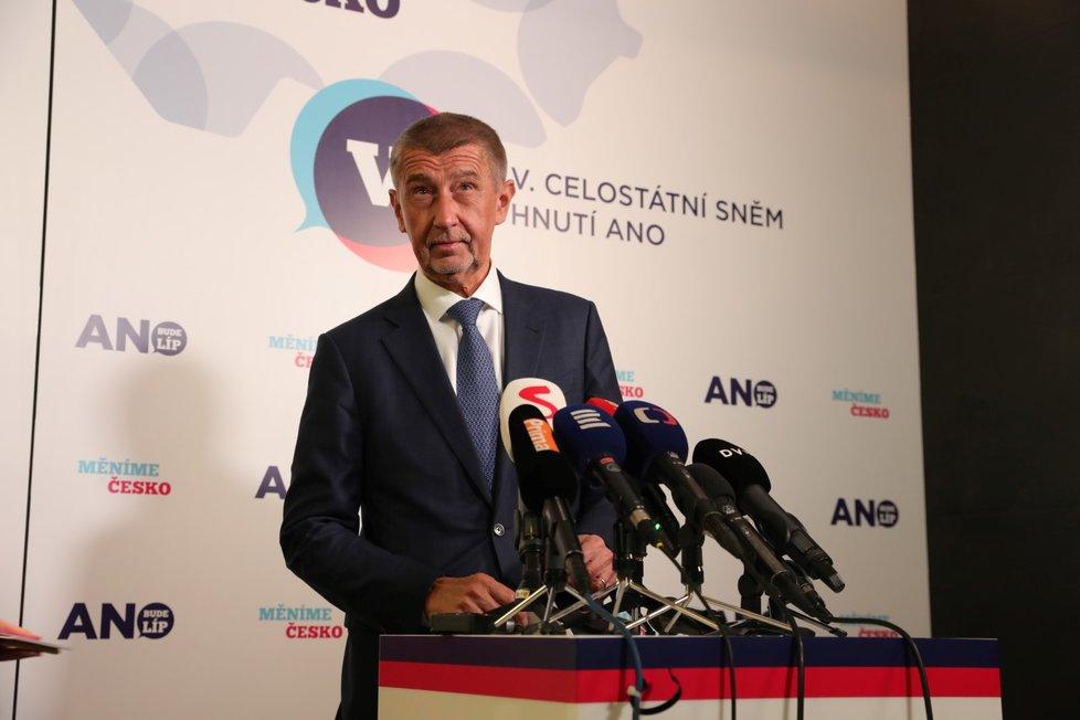 Nedávno byl Babiš opět zvolen předsedou ANO