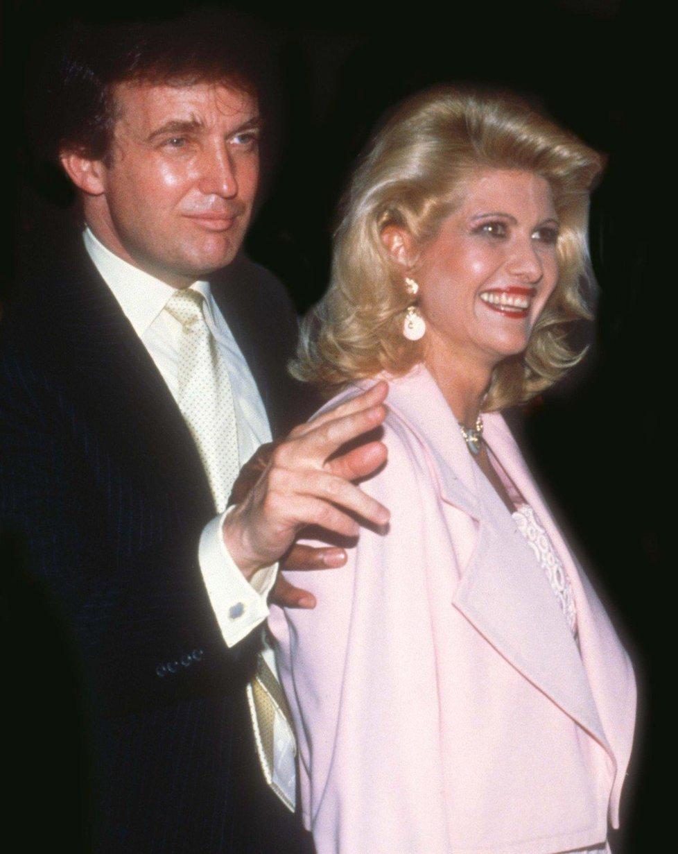 Ještě šťastní manželé Trumpovi