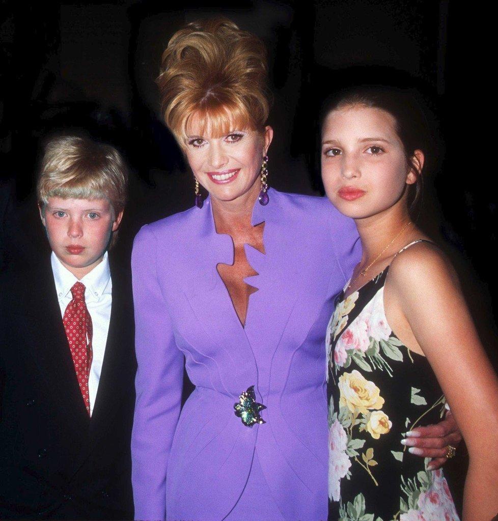 S Donaldem juniorem a Ivankou