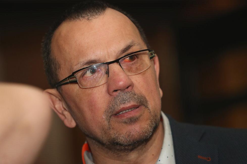 Sjezd ČSSD v Hradci Králové: Jaroslav Foldyna (1.3.2019)