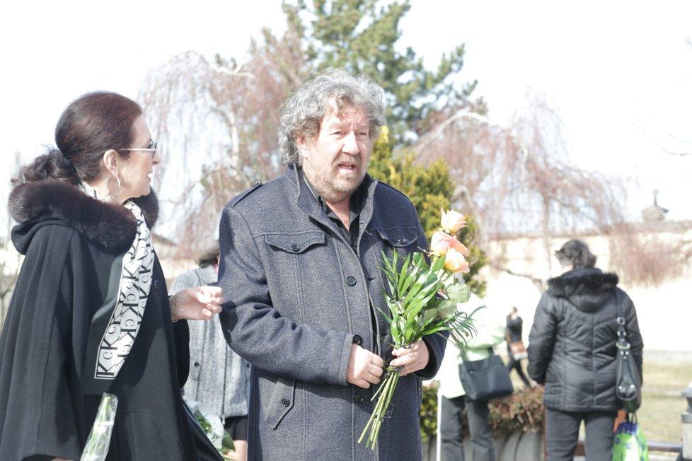 Pohřeb Jiřího Pomeje: Zdeněk Troška