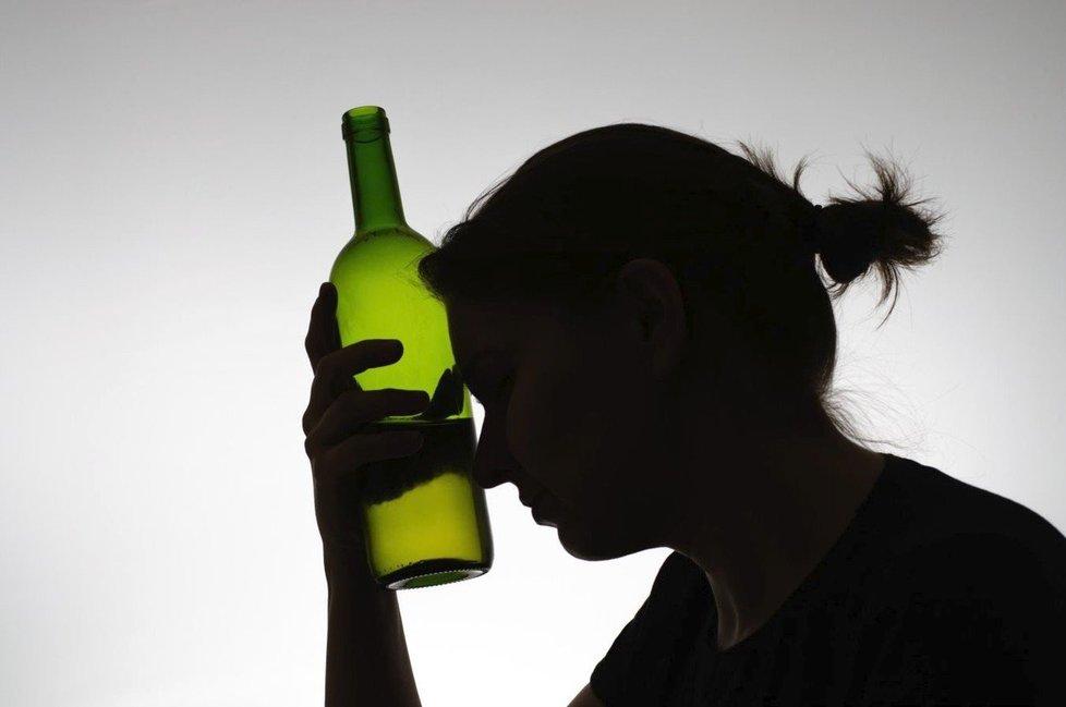 Alkoholismus žen je velký problém