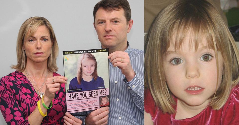 Maddie unesli kvůli původu.