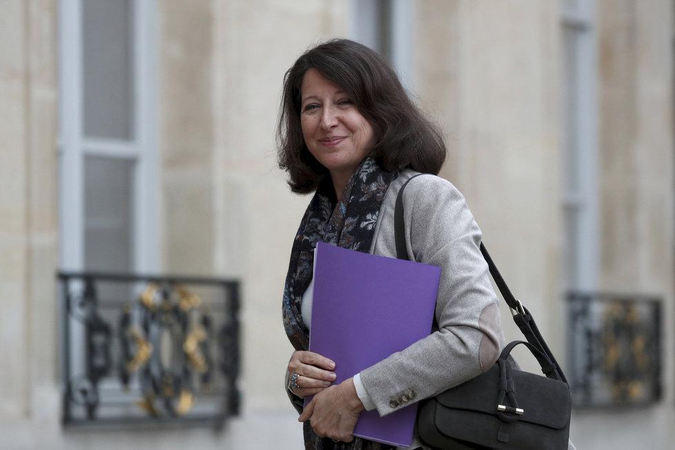 Francouzská ministryně zdravotnictví Agnès Buzynová.