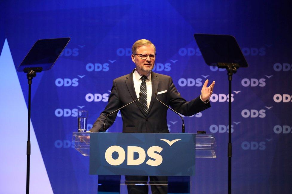 Programová konference ODS: Předseda Petr Fiala (16. 3. 2019)