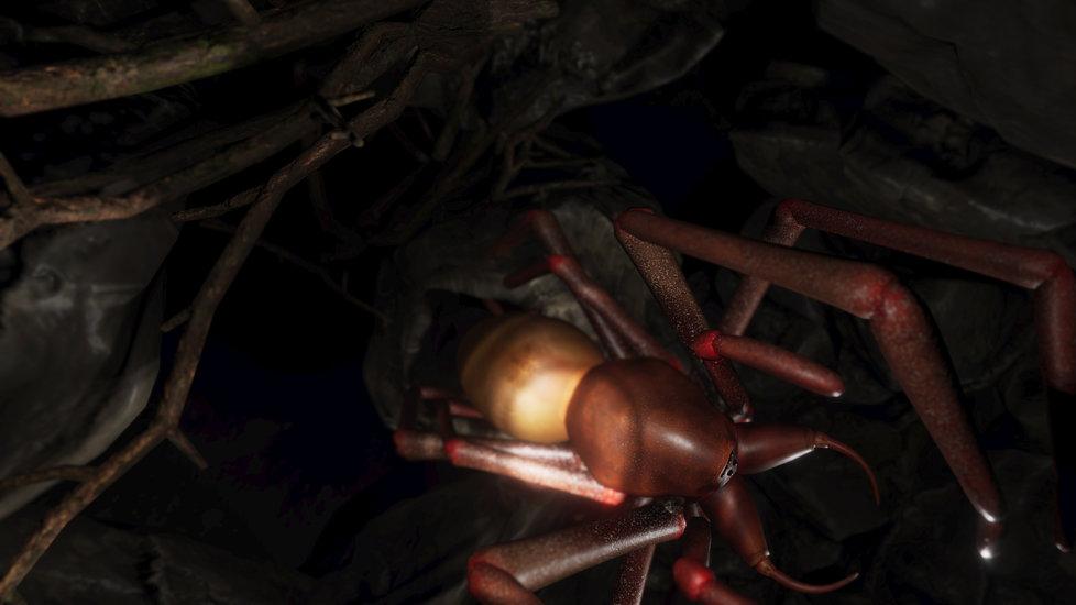 Nová hra ve vrituální realitě Arachnoid: Kdo se bojí tmy a pavouků, nesmí do jeskyní. Nebo naopak právě musí, aby čelil svému strachu?