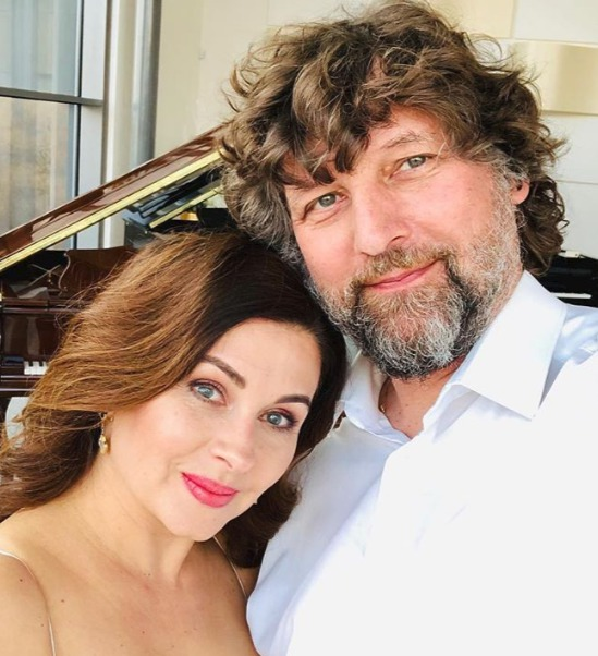 Petr Malásek a jeho manželka, Dana Morávková
