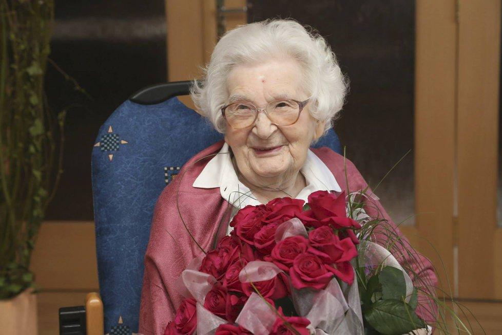 Herečka Žofie Trnková zemřela měsíc před 104. narozeninami.