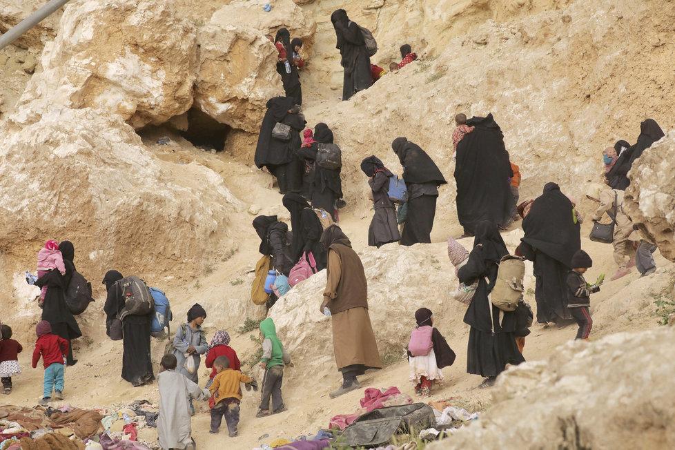 Uprchlíci před Islámským státem v Sýrii