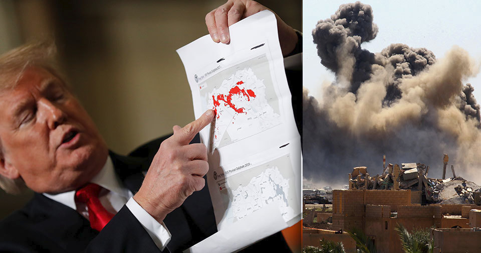 Podle Bílého domu už ISIS neovládá v Sýrii žádné území.