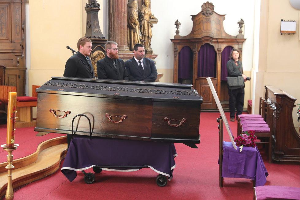Pohřeb Věry Bílé v Rokycanech