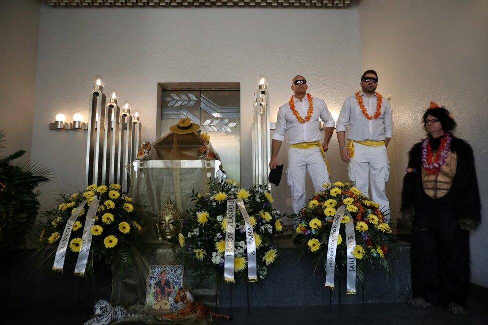 Pohřeb Daniela Nekonečného