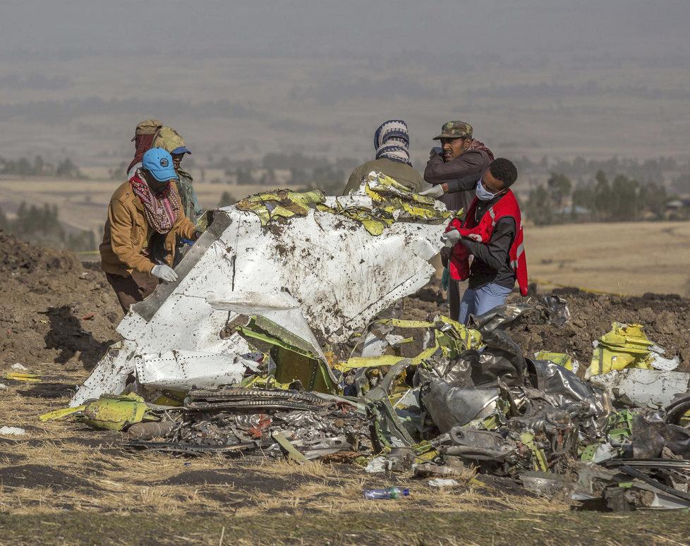Vyšetřování etiopské letecké havárie pokračuje, (5.04.2019).