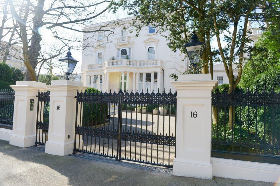 Londýnská nemovitosr ruského boháče