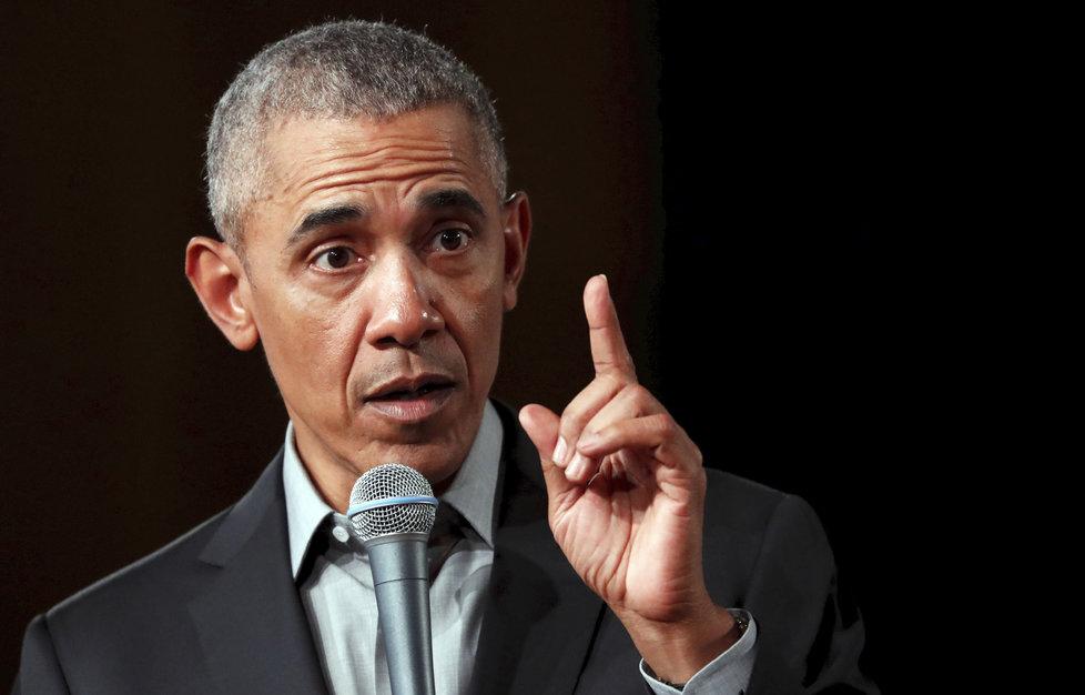 Exprezident USA Barack Obama.