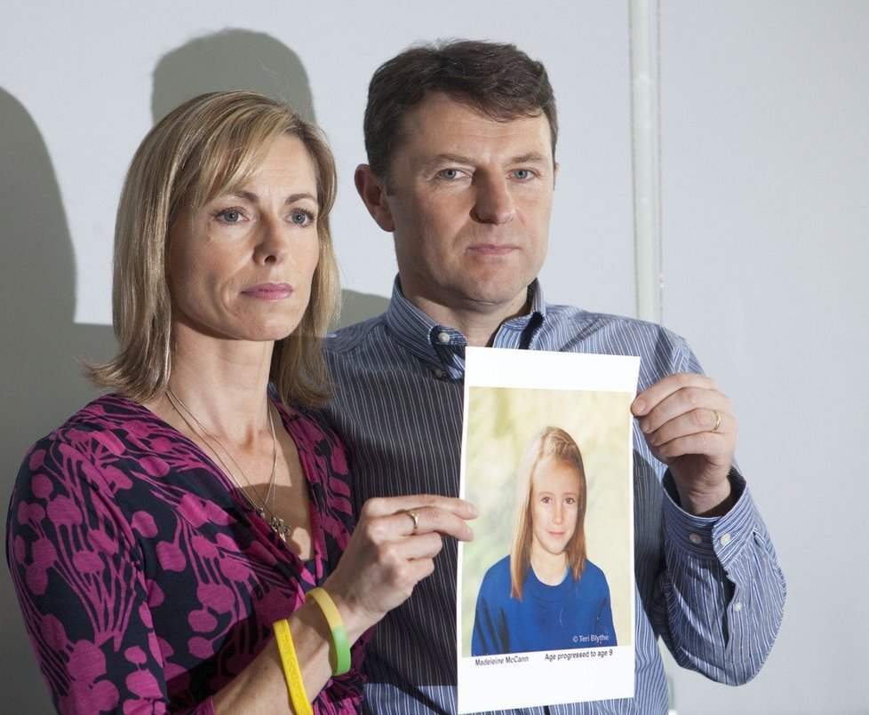 Rodiče Meddie McCannové