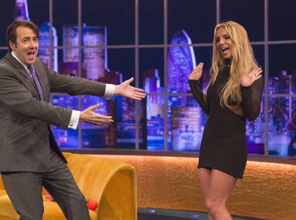 Britney Spearsová v show Jonathana Rosse