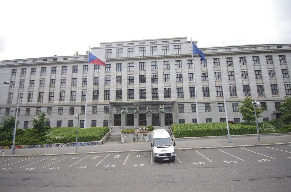 Budova ministerstva zemědělství v Praze