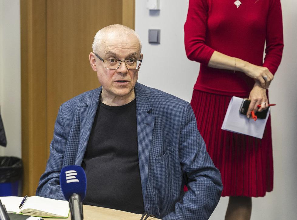 Expremiér Vladimír Špidla (29. 4. 2019)