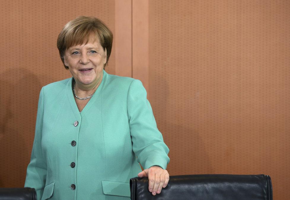 Německá kancléřka Angela Merkelová (30. 4. 2019)