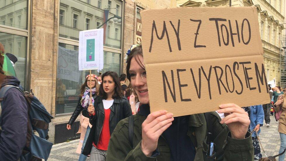 Studentský majáles v Praze (1.5.2019)