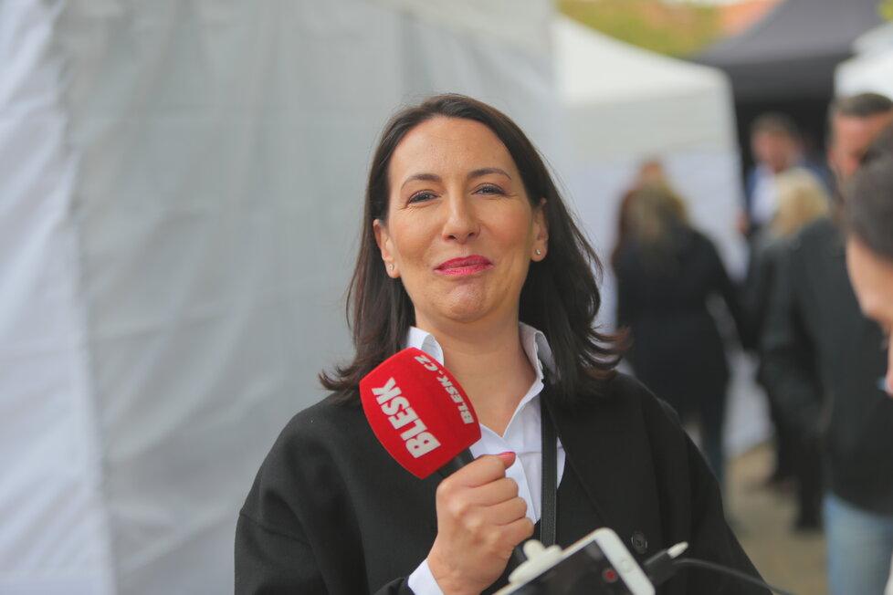 Alexandra Udženija na Petříně (1.5.2019)