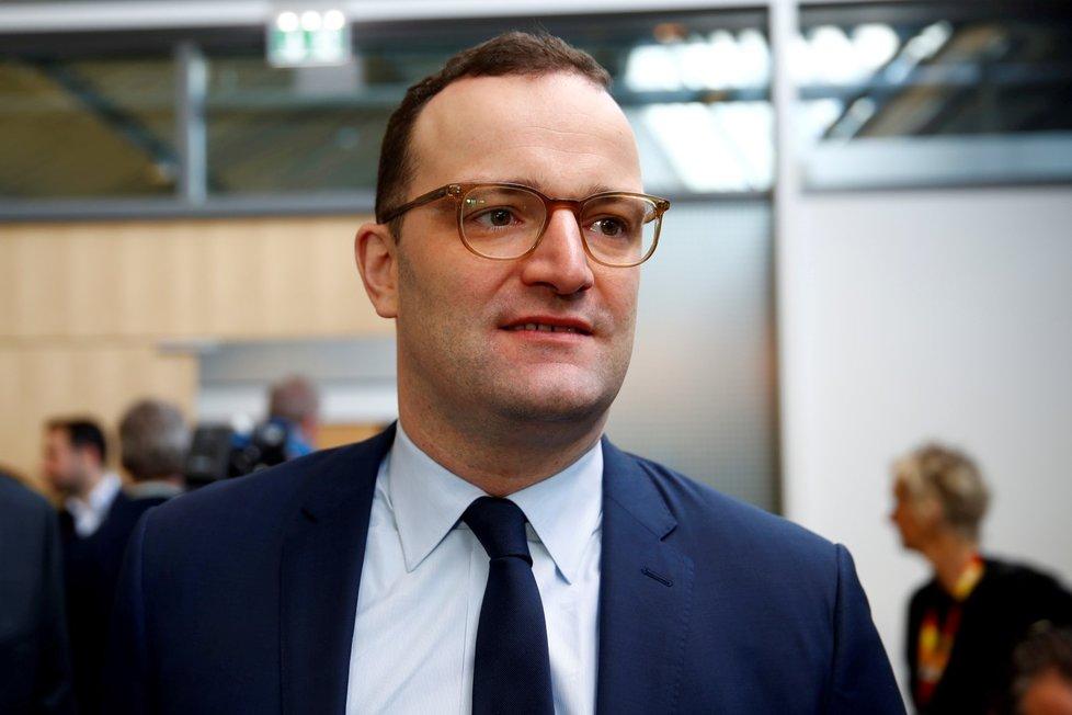 Německý ministr zdravotnictví Jens Spahn