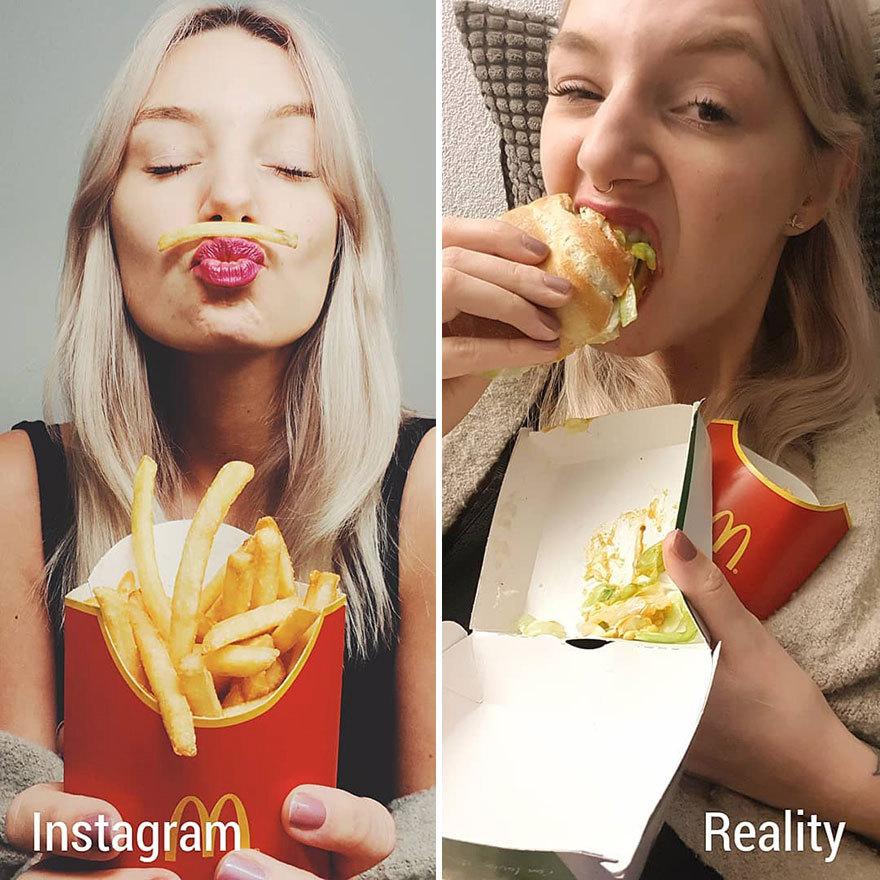 V McDonald's jedí i dámy:)
